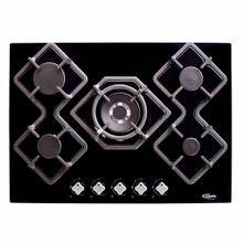 cocina-empotrable-klimatic-karad-5-quemadores-negro