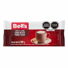 chocolate-para-taza-bells-tableta-paquete-90gr