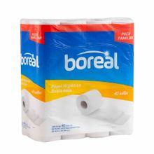Papel Higiénico Boreal Doble Hoja Paquete 40Un