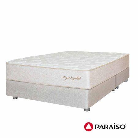 conjunto-box-tarima-paraiso-royal-elizabeth-organic-king-2-almohadas-viscoelasticas-protector