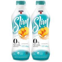 pack-yogurt-descremado-gloria-slim-durazno-botella-1kg-paquete-2un