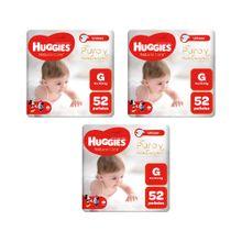 panales-para-bebe-huggies-puro-y-natural-talla-g-paquete-52un-pack-3un