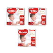 panales-para-bebe-huggies-puro-y-natural-talla-xxg-paquete-38un-pack-3un