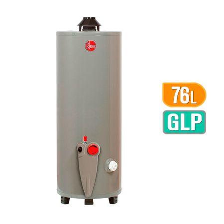 Rheem Termotanque 76 litros GLP Blanco