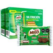 pack-milo-modificador-de-leche-nutri-plus-caja-165ml-paquete-6un-galleta-sandwich-34g-paquete-6un