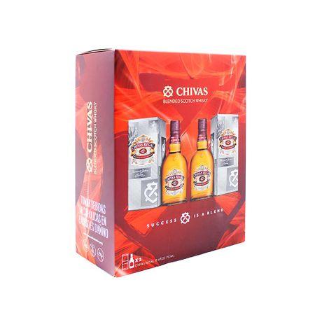 whisky-chivas-regal-12-anos-pack-2un-botella-750ml