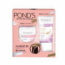 estuche-ponds-crema-aclaradora-clarant-b3-pote-50g-base-de-maquillaje-bb-cream-pote-25ml-caja-2un