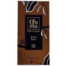 barra-de-chocolate-q-uma-extra-dark-70-cacao-sin-azucar-caja-70g