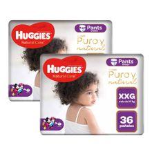 panales-para-bebe-huggies-natural-care-pants-unisex-talla-xxg-paquete-36un-pack-2un