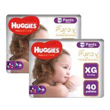 panales-para-bebe-huggies-natural-care-pants-unisex-talla-xg-paquete-40un-pack-2un