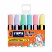 resaltadores-vinifan-easy-brillant-paquete-6un