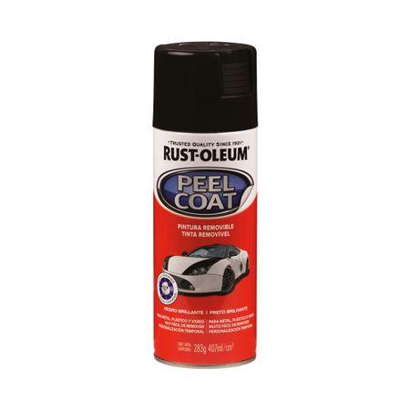 Spray Automotive Peel Coat Negro Brillante 312 gramos