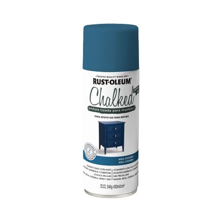 Spray Chalked Aerosol Azul Costeño 340 gramos