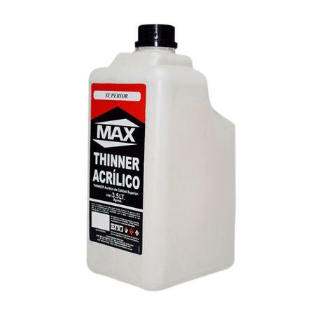 Max Thinner acrílico 3.5 litros