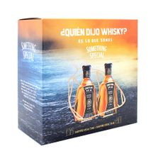 Pack Whisky Something Special Botella 750Ml Ca...