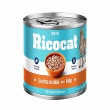 comida-para-gatos-ricocat-trocitos-pollo-lata-160g