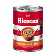 comida-para-perros-ricocan-adultos-pollo-y-verduras-en-trocitos-280g