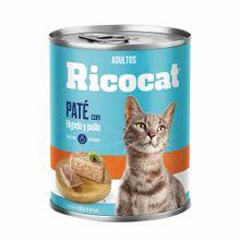 comida-para-gatos-ricocat-adultos-pate-higado-y-pollo-lata-330g