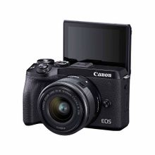 camara-canon-eos-m6-mark-ii-ef-m-15-45mm-is-stm