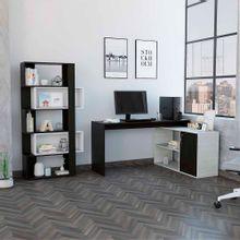 combo-tuhome-office-escritorio-biblioteca-wengue