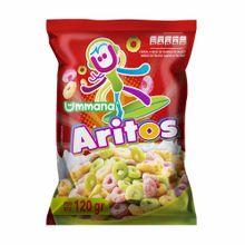 Cereal Ummana Aritos De Fruta Bolsa 120G