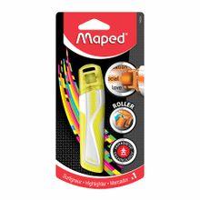 resaltador-maped-roller-fluorecente-amarillo