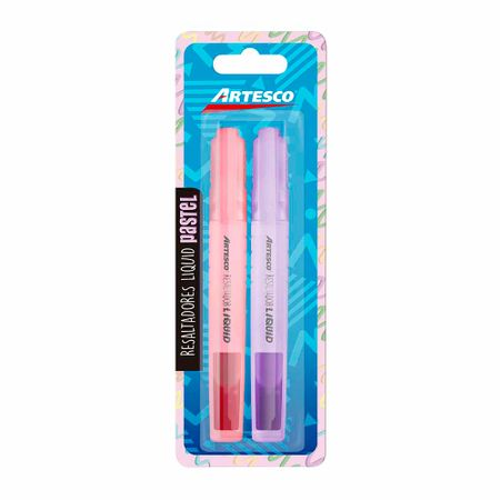 resaltador-artesco-liquido-rosado-y-morado-pastel