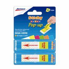 banderitas-adhesivas-artesco-sticky-notes-pop---up-blister-60un