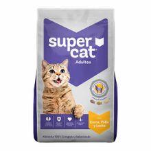 comida-para-gatos-supercat-adulto-carne-pollo-leche-bolsa-1kg
