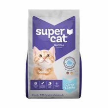 comida-para-gatitos-supercat-carne-y-leche-bolsa-1kg