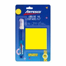 pack-artesco-corrector-9m-sticky-note-3x3-100-hojas