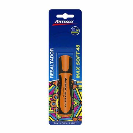 resaltador-artesco-max-soft-48-naranja-blister-1un