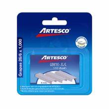 grapas-artesco-26-6-blister-1000un