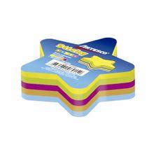 notas-adhesivas-artesco-estrella-neon-paquete-250un