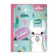 cuaderno-atlas-llama-triple-renglon-88-hojas