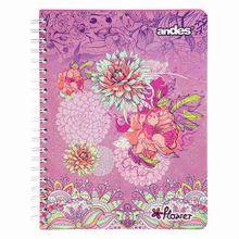 cuaderno-espiral-a4-flower-180-hojas