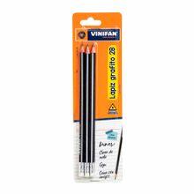 lapiz-vinifan-grafito-2b-blister-3un