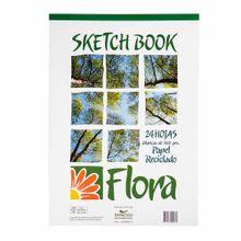 sketch-book-poliflor-flora-block-24-hojas