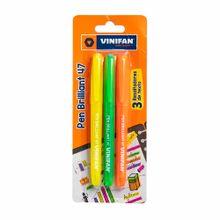 resaltador-vinifan-easy-brillant-47-amarillo-verde-naranja-blister-3un
