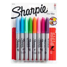 marcadores-sharpie-punta-fina-fashion-blister-8un