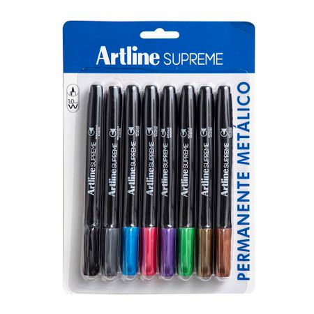 plumon-permanente-artline-metalico-1-0mm-blister-8un