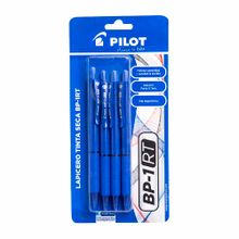 boligrafos-pilot-bp1rt-0-7mm-azul-blister-4un