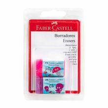 borrador-faber-castell-mundo-marino-rosado-violeta-blister-2un