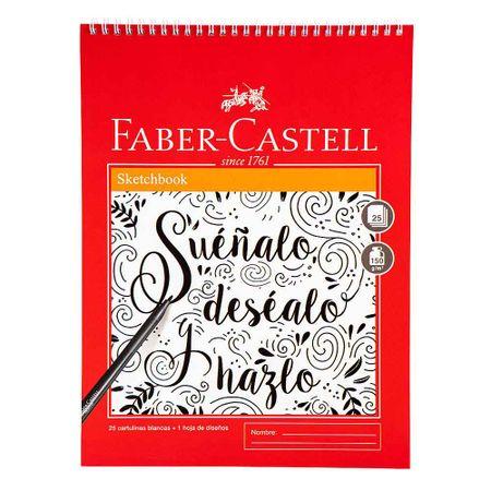 sketch-book-faber-castell-espiralado-25-hojas