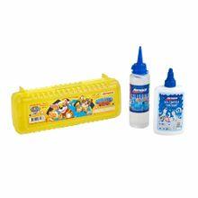 pack-artesco-junior-box-paw-patrol-silicona-frasco-100ml-cola-sticky-frasco-3oz