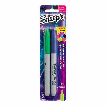 marcador-permanente-sharpie-cosmic-punta-fina-caja-2un