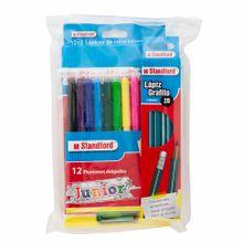 pack-standford-colores-plumones-lapiz