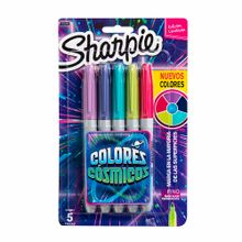 marcador-permanente-sharpie-colores-cosmicos-blister-5un