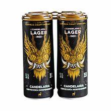 cerveza-artesanal-candelaria-lager-indi-paquete-4un