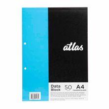 block-perforado-atlas-a-4-cuaderno-50-hojas